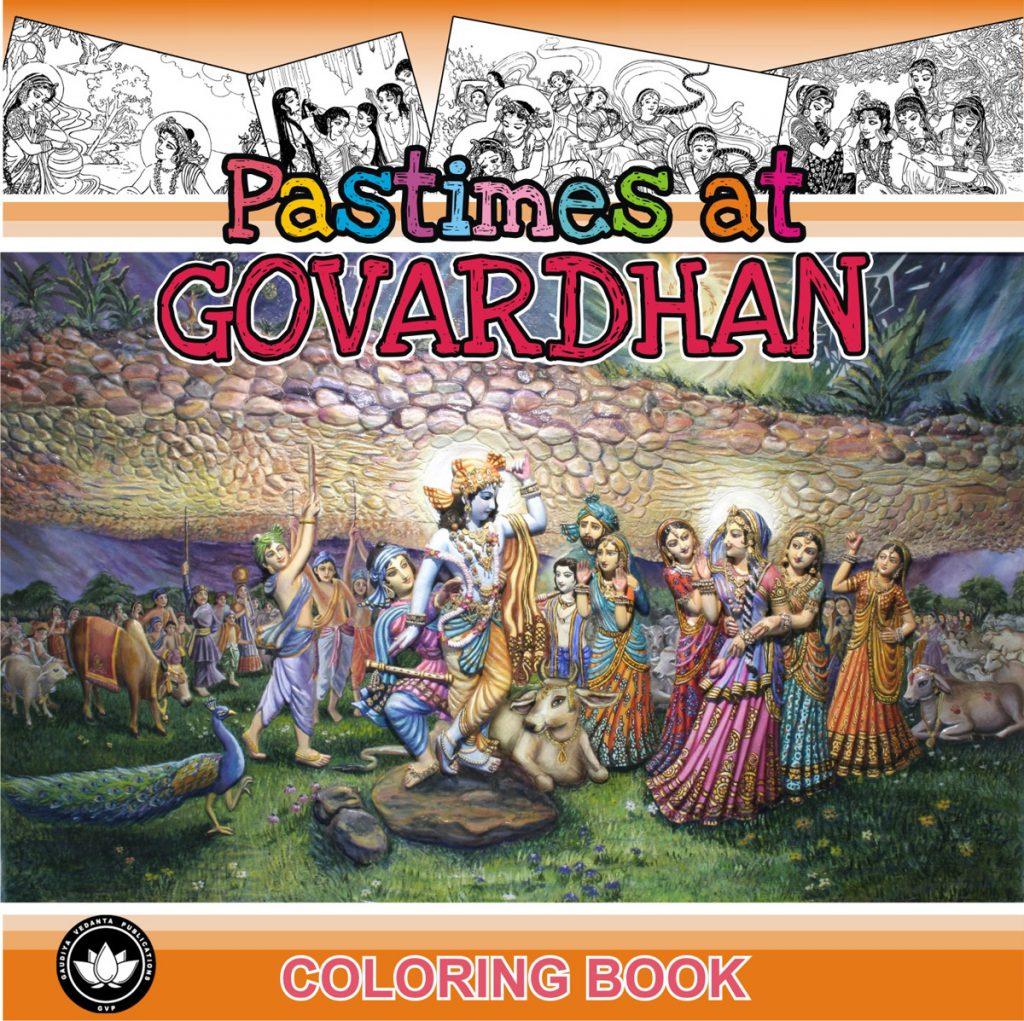 Pastimes at Govardhana Image