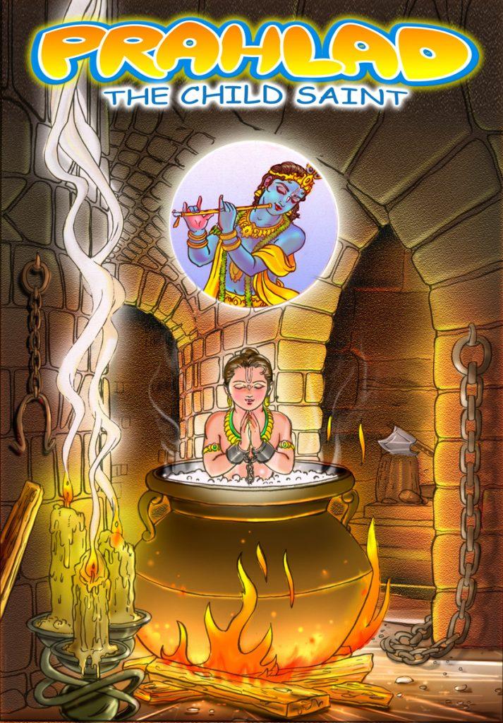 Prahlada, the Child Saint Image