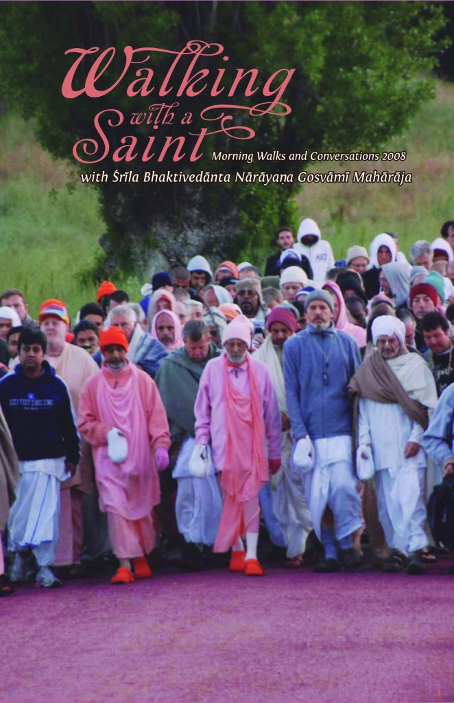 Walking with A Saint 2008 Image